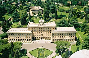 Outline of Vatican City - Palace of the Governatorate, Vatican City