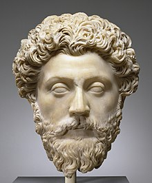 Roman - Portrait of the Emperor Marcus Aurelius - Walters 23215 (cropped).jpg