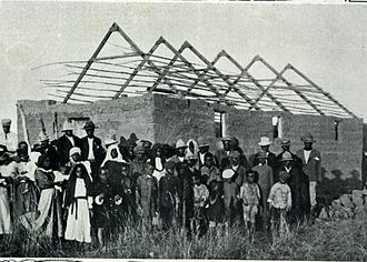 Engenas Lekganyane - The Construction of St. Andrews Mission near Thabakgone, Transvaal