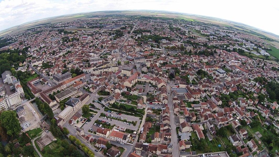 La ville de Romilly-sur-Seine, ses écoles, son patrimoine, ses espaces verts...