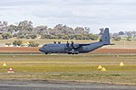 Royal Australian Air Force (A97-440) Lockheed Martin C-130J Hercules taking off at Wagga Wagga Airport (1).jpg