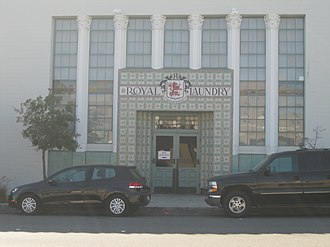 As Long as You Love Me (Backstreet Boys song) - Filming took place at the Royal Laundry Complex (pictured in 2013)