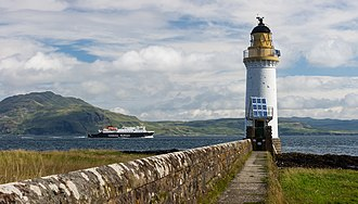 Tobermory, Mull - Rubha nan Gall Lighthouse, north of Tobermory