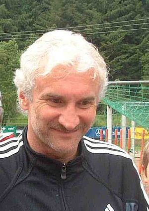Germany national football team manager - Rudi Völler, manager from 2000 to 2004