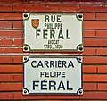 Rue Philippe-Féral Toulouse - Plaques.jpg