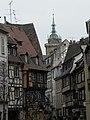 Rue des Boulangers, collégiale Saint-Martin (Colmar) (1).JPG