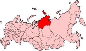 Taymyr Autonomous Okrug - Taymyr Dolgano-Nenets Autonomous Okrug on the 2005 of Russia