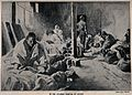 Russo-Japanese War; patients lying on the floor in the Japan Wellcome V0015670.jpg