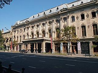 street in Tbilisi, Georgia