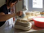 Sèvres - Plâtre - fabrication d'un moule 052.jpg