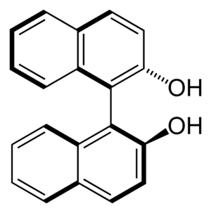 1,1'-Bi-2-naphthol - Image: S BINOL 2D skeletal