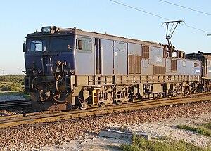 South African Class 9E, Series 2 - No. E9030 at Saldanha, Western Cape, 26 July 2009