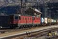 "SBB CFF FFS Cargo Re 620 11664 ""Köniz"" + Re 420-430 (25041442615).jpg"