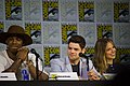 SDCC 2017 - Mehcad Brooks, Jeremy Jordan and Melissa Benoist 02.jpg