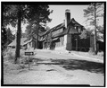 SITE VIEW OF NORTHEAST CORNER - Bryce Canyon Lodge, Bryce Canyon, Garfield County, UT HABS UTAH,9-BRYCA,1-4.tif