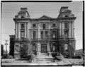 SOUTH ELEVATION - Pottawattamie County Courthouse, Pearl Street and Fifth Avenue, Council Bluffs, Pottawattamie County, IA HABS IOWA,78-COUB,4-2.tif