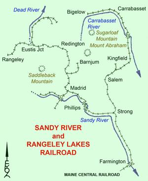 Sandy River and Rangeley Lakes Railroad - Image: SR&R Lv 1