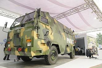 Ashok Leyland - Ashok Leyland's Stallion Kavach 4X4 Mine Protection Armoured Vehicle