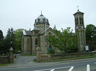 Gerrards Cross - St James's Church, Gerrards Cross, built in 1861.