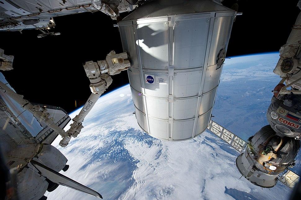STS-133 Installation PMM 3
