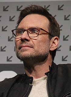 Christian Slater American actor