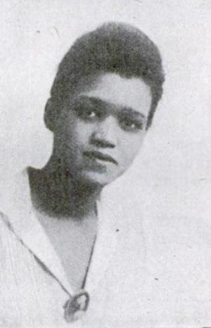 Sadie Tanner Mossell Alexander - Sadie Tanner Mossell 1918