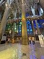 Sagrada Familia inside View Windows Blue Green.jpg