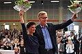 Sahra Wagenknecht and Dietmar Bartsch. Hannover Parteitag 2017.jpg