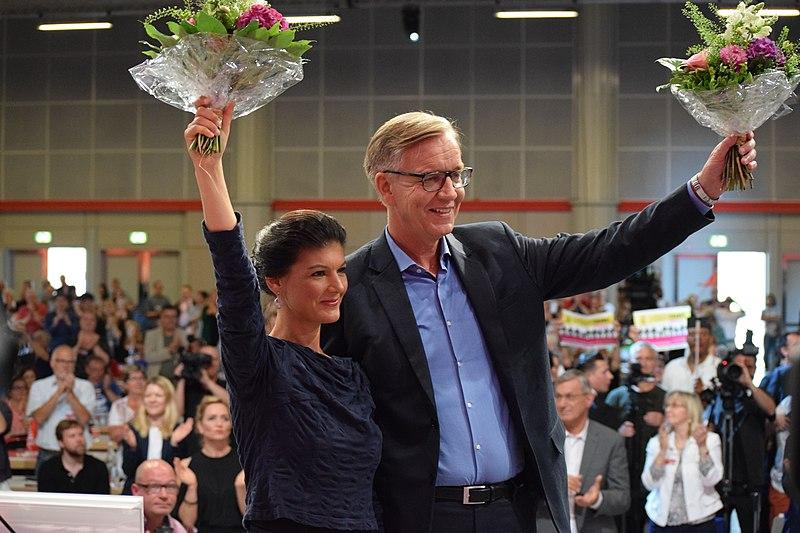 File:Sahra Wagenknecht and Dietmar Bartsch. Hannover Parteitag 2017.jpg