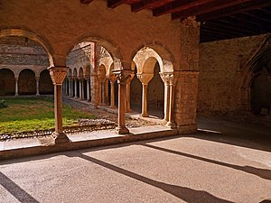 Saint-Lizier Cathedral - The cloister