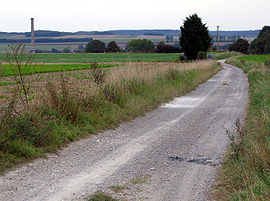 Route of the old Roman road