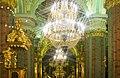 Saint-Pétersbourg, grand lustre de la cathédrale Pierre-et-Paul.jpg