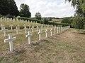 Saint-Rémy-la-Calonne (Meuse) nécropole nationale (03) les tombes de la compagnie d'Alain-Fournier.JPG
