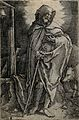 Saint Antony. Line engraving by Lucas van Leyden after himse Wellcome V0031581.jpg