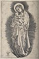 Saint Mary (the Blessed Virgin) with the Christ Child. Engra Wellcome V0033751.jpg