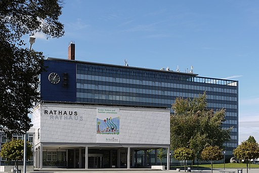 Salzgitter Rathaus in Lebenstedt