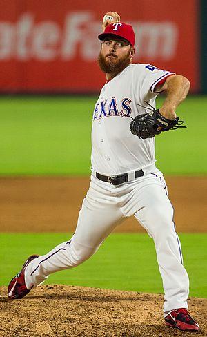 Sam Dyson - Dyson with the Texas Rangers in 2016