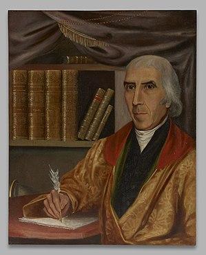 Jedidiah Morse (1761-1826), B.A. 1783, M.A.1786