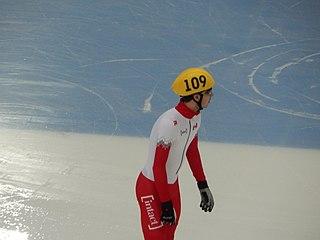 Samuel Girard Canadian short-track speed skater