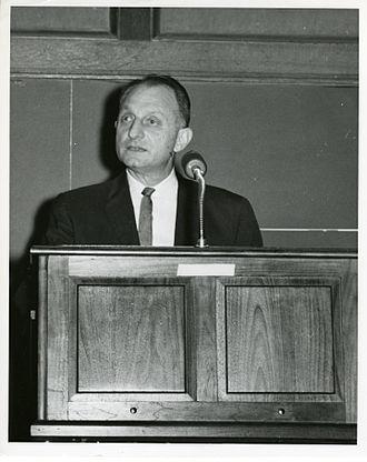 Samuel N. Alexander - Samuel N. Alexander in 1964, speaking at the SEAC computer retirement ceremony.