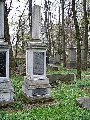 Samuel Orgelbrand - Orgelbrand tomb in Okopowa Street Jewish Cemetery in Warsaw
