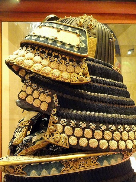 File:Samurai helmet - Higgins Armory Museum - DSC05522.JPG