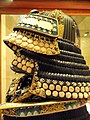 Samurai helmet - Higgins Armory Museum - DSC05522.JPG