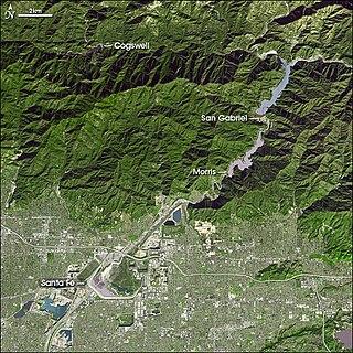 Santa Fe Dam Dam in Irwindale, California