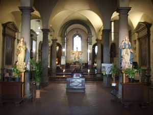 San Felice, Florence - The interior