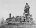 San Francisco Earthquake of 1906, San Francisco City Hall and dome at McAllister Street and Van Ness Avenue - NARA - 531009.tif