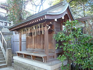 Setsumatsusha - A massha at Sankō Shrine in Ōsaka