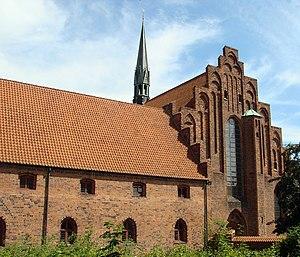 Carmelite Priory, Helsingør - Former Carmelite Priory and St. Mary's Church, Helsingør