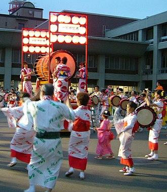 Morioka - Sansa Odori festival