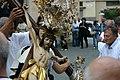 Sant'Eusebio - Madonna di Caravaggio - Processione - 023 - Cristi davanti alla chiesa.jpg